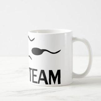 icône d'équipe de natation tasse à café