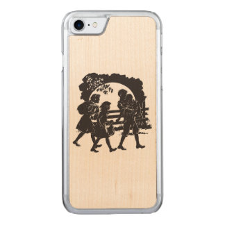 Iconic Boxcar Children Silhouette Carved iPhone 8/7 Case