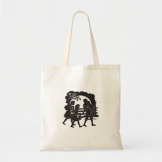 Iconic Boxcar Children Silhouette Tote Bag
