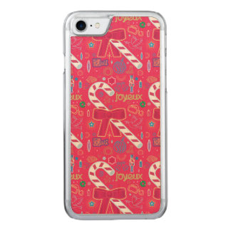 Iconic Candy Cane Carved iPhone 8/7 Case