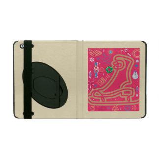 Iconic Candy Cane iPad Folio Cover