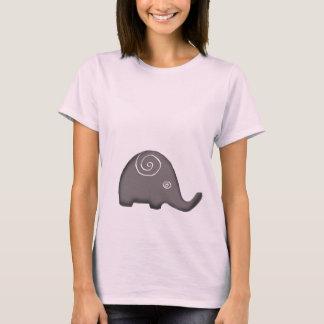 Iconic Ethnic Spiral Elephants T-Shirt
