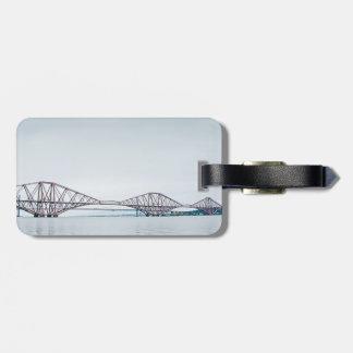 Iconic Forth Rail Bridge - Scotland Luggage Tag