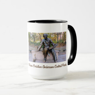 Iconic Hans Christian Anderson Statue Large Mug