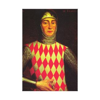 Iconic King Raniero I of Monaco Canvas Print