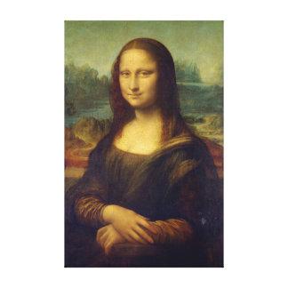 Iconic Leonardo da Vinci Mona Lisa Canvas Print