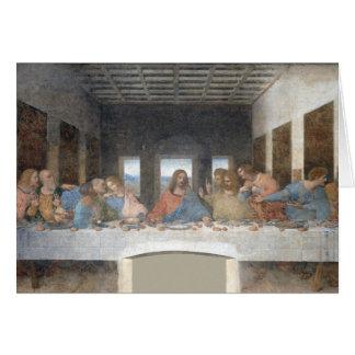 Iconic Leonardo da Vinci The Last Supper Card