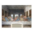 Iconic Leonardo da Vinci The Last Supper Postcard