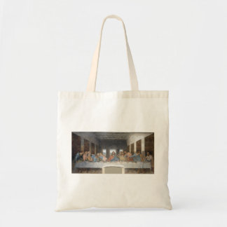 Iconic Leonardo da Vinci The Last Supper Tote Bag