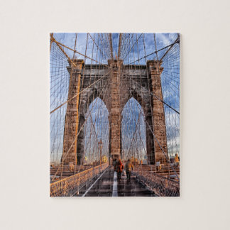Iconic New York Landmark Brooklyn Bridge Puzzle