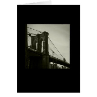 Iconic New York Series: Brooklyn Bridge Card