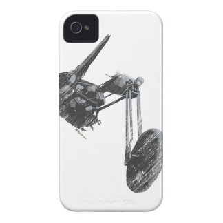 Iconic Old School Vintage Custom Chopper iPhone 4 Case-Mate Cases