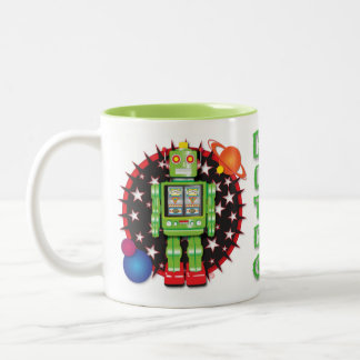 Iconic Robot Mug Design