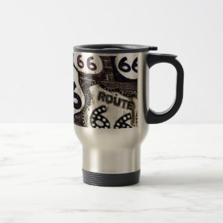 Iconic Route 66 15 Oz Stainless Steel Travel Mug