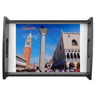 Iconic Venice: Piazza San Marco Serving Tray