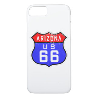 Iconic Vintage Route 66 Arizona iPhone 8/7 Case