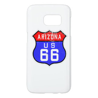 Iconic Vintage Route 66 Arizona Samsung Galaxy S7 Case