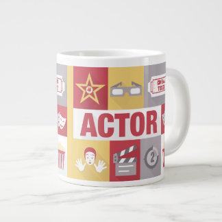 Iconique d'acteur professionnel conçu mug jumbo