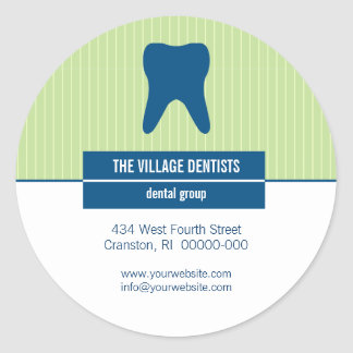 Iconographic Dental Promotional Sticker