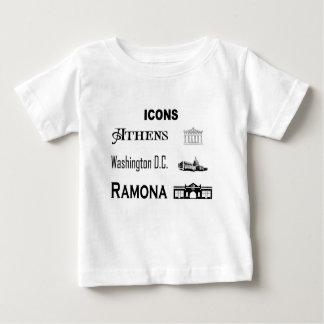 Icons-Athens-DC-Ramona Baby T-Shirt