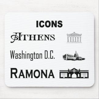 Icons-Athens-DC-Ramona Mouse Pad