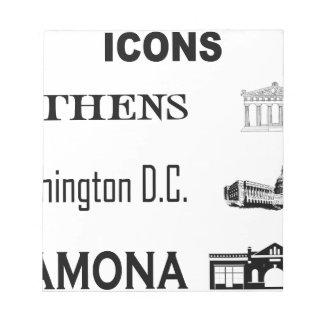 Icons-Athens-DC-Ramona Notepad