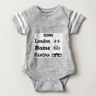 Icons-London-Rome-Ramona Baby Bodysuit