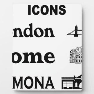Icons-London-Rome-Ramona Plaque