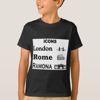 Icons-London-Rome-Ramona T-Shirt