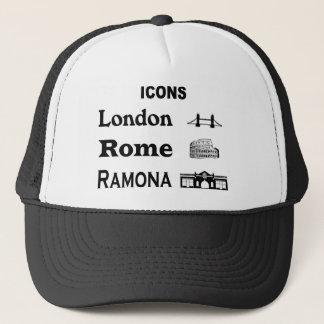 Icons-London-Rome-Ramona Trucker Hat