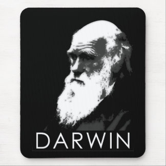 Icons of Science: Darwin Mouse Pad