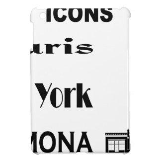 Icons-Paris-NewYork-Ramona iPad Mini Case