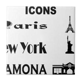 Icons-Paris-NewYork-Ramona Tile