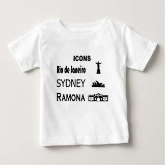 Icons-Rio-Sidney Baby T-Shirt
