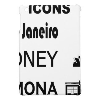 Icons-Rio-Sidney Case For The iPad Mini