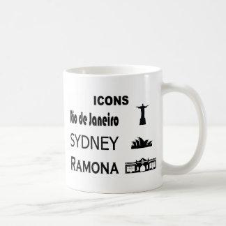 Icons-Rio-Sidney Coffee Mug