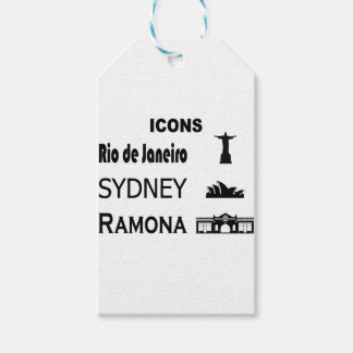 Icons-Rio-Sidney Gift Tags