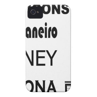 Icons-Rio-Sidney iPhone 4 Cover