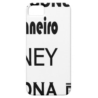 Icons-Rio-Sidney iPhone 5 Cover