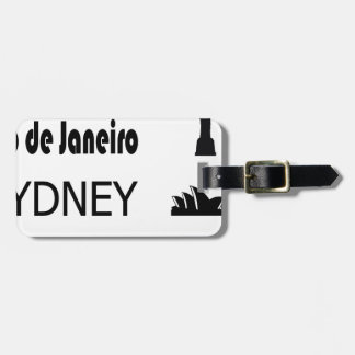 Icons-Rio-Sidney Luggage Tag