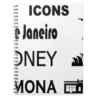 Icons-Rio-Sidney Notebook