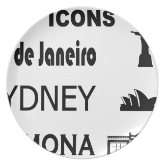 Icons-Rio-Sidney Plate