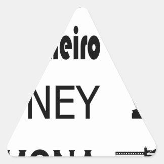Icons-Rio-Sidney Triangle Sticker