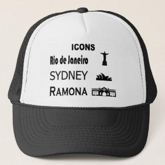 Icons-Rio-Sidney Trucker Hat