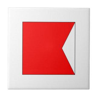 ICS Flag B Tile