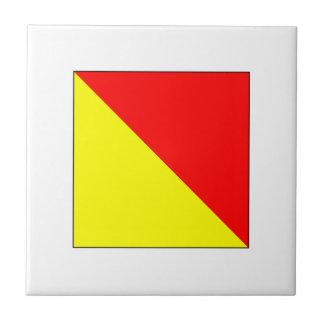 ICS Flag O Tile