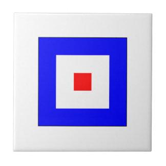 ICS Flag W Tile