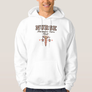 ICU Nurse Caduceus Hooded Sweatshirt