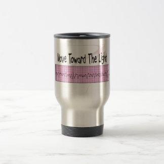 ICU Nurse Gift--Hilarious V-Fib EKG Strip Design Travel Mug