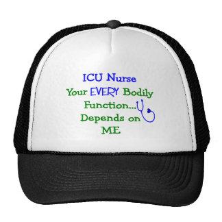 ICU Nurse Gifts Trucker Hat